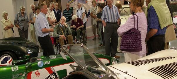 Alcester Cafe Members at Gaydon Motor Museum - 1
